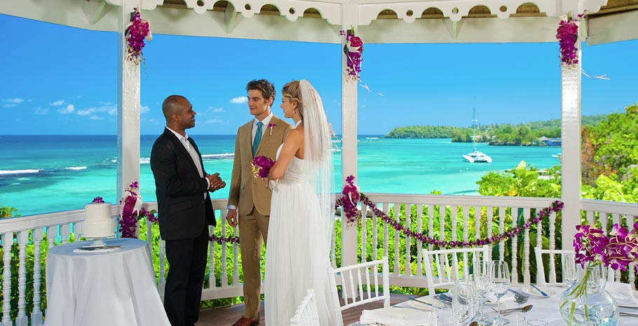 sandals montego bay wedding chapel brides travel