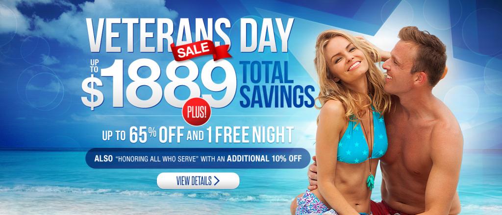 Sandals Veterans Day Sale